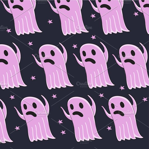 Ghost pattern in vector