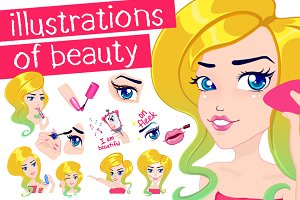 Illustratıons of Beauty