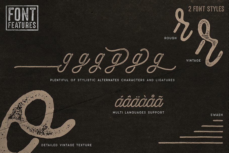 Anchorage Script Typeface in Display Fonts - product preview 2
