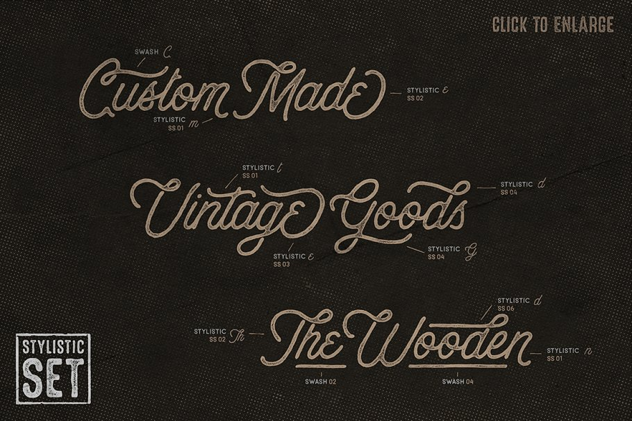 Anchorage Script Typeface in Display Fonts - product preview 1