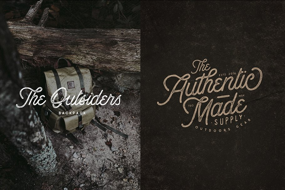 Anchorage Script Typeface in Display Fonts - product preview 7