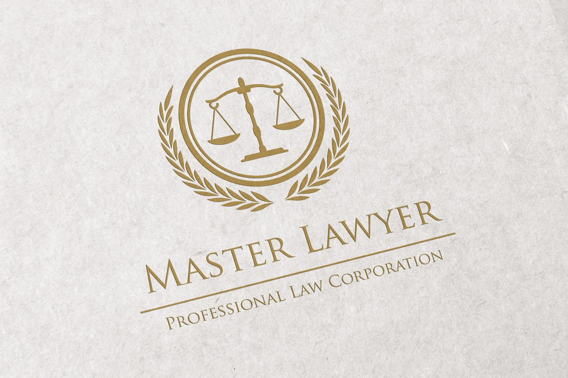 Law office logo Photos, Graphics, Fonts, Themes, Templates ...