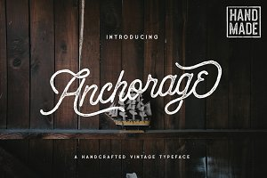 Anchorage Script Typeface - 20% OFF