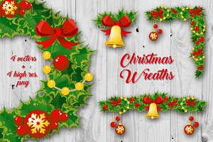 Christmas Decoration Wreaths