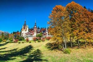 Amazing royal Peles castle,Romania