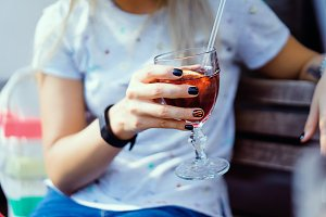 2 glass of sangria