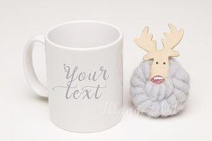 Mug mockup (deer)