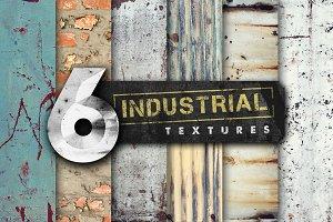6 Industrial Textures