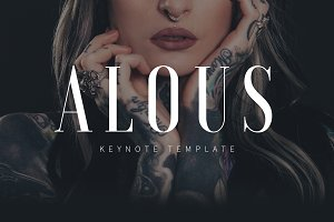 ALOUS - Fashion Keynote Template