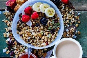 Diet breakfast composition