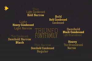 TriunfoFontFamily