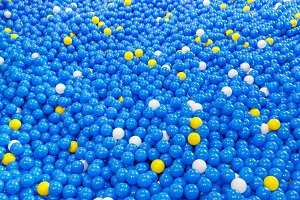 Plastic balls for children