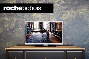Roche Bobois Claridge Tv Stand 3d