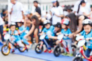 Blur balance bike racing