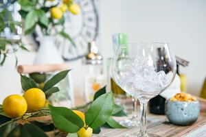 Drinks composition (Gin Tonic)