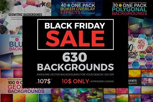 630 BACKGROUNDS IN ONE PACK(60% OFF)