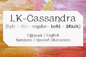 Cassandra Hand Drawn Font