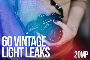 60 Vintage Light Leaks