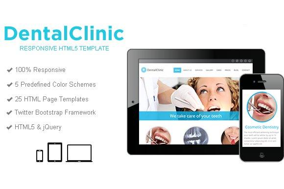DentalClinic Responsive Template