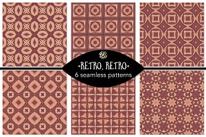 Set 34 - 6 Seamless Patterns