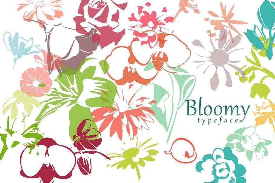 Flora Font ~ Fonts ~ Creative Market