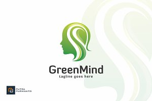 Green Mind - Logo Template