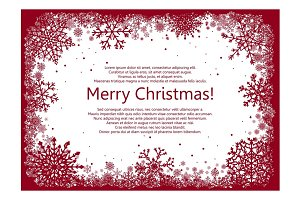 20% OFF!!! Vector Christmas Frame