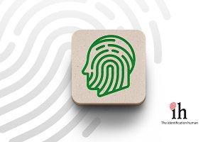 Logotype Human identification