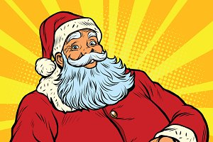 Santa Claus New year and Christmas