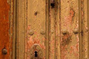 Old beautiful doors