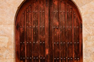 Old beautiful doors