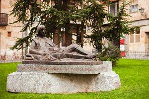 Statue in Salamanca