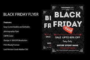 Black Friday Sale flyers.