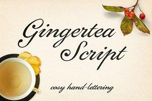 Gingertea Script Font