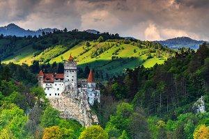 The famous Dracula castle,Bran