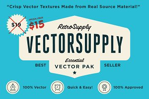 VectorSupply | Retro Vector Tetures