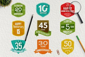 Anniversary Logos & Extras