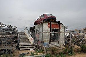 Rusty Car Junkyard
