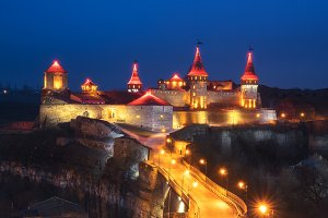 Castle in Kamenetz-Podolsky TIF