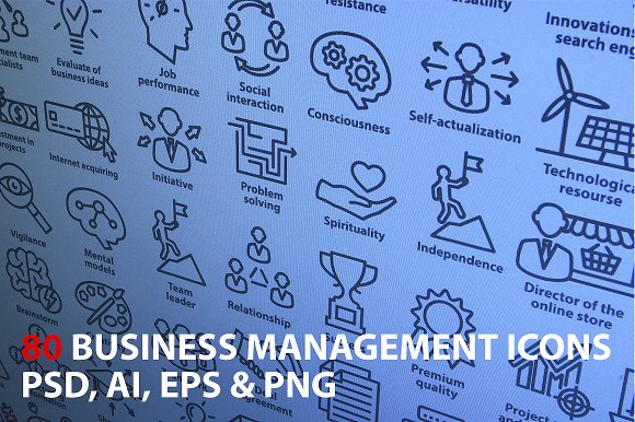 Business Management Icons. Pack 2.  - Icons