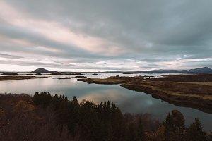Nordic Lake in Autumn
