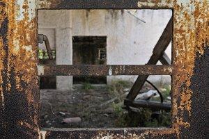 Rusty Warehouse Door