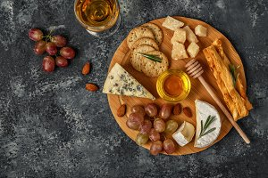 Assortment of cheese