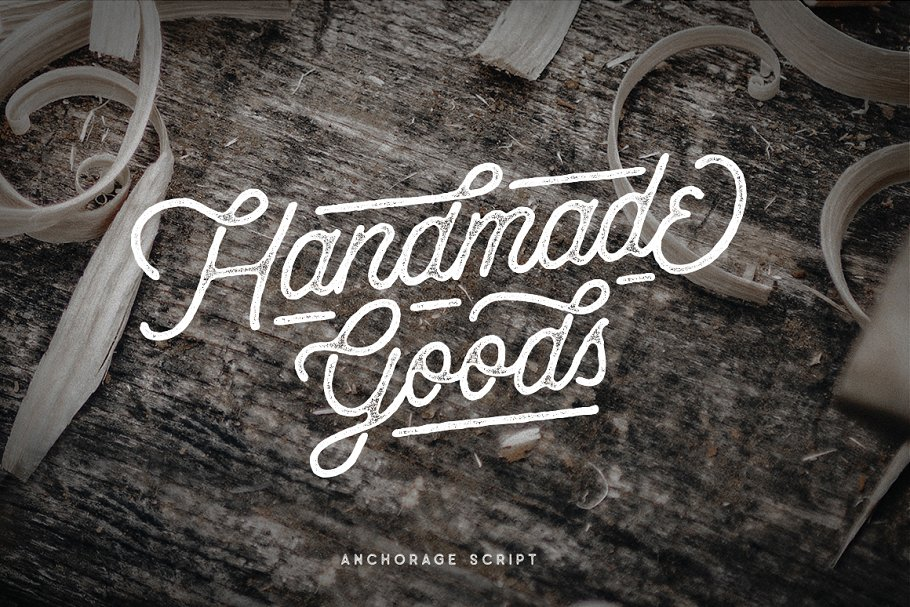 Anchorage Script Typeface in Display Fonts - product preview 11