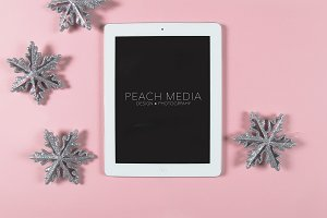Styled Stock Photo | Snow Flake Ipad