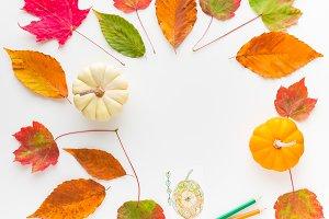 Autumn frame composition 1