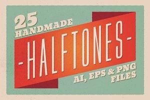 25 Halftones - Texture Pack