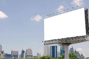 billboard for advertisement.