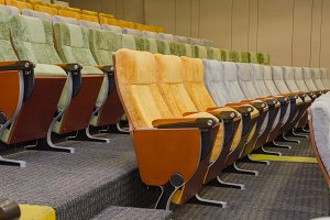 chairs in theatre or conference