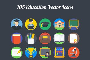 100+ Education Vector Icons